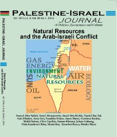 PIJ ORG: Natural Resources and the Arab-Israeli Conflict By